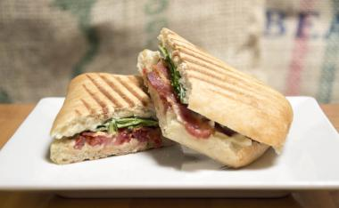 Bacon Spinach Tomato Panini