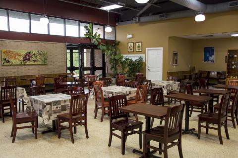 Inside Cafe Codiac