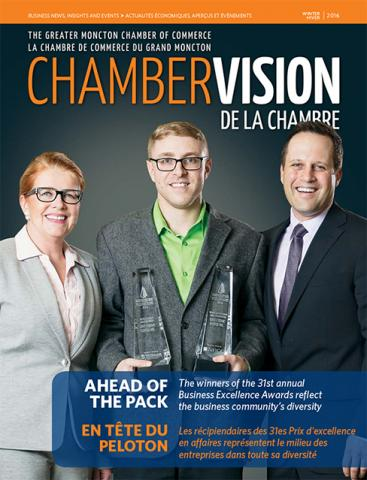Check us out in the winter edition of the Greater Moncton Chamber of Commerce Chamber Vision magazine!
